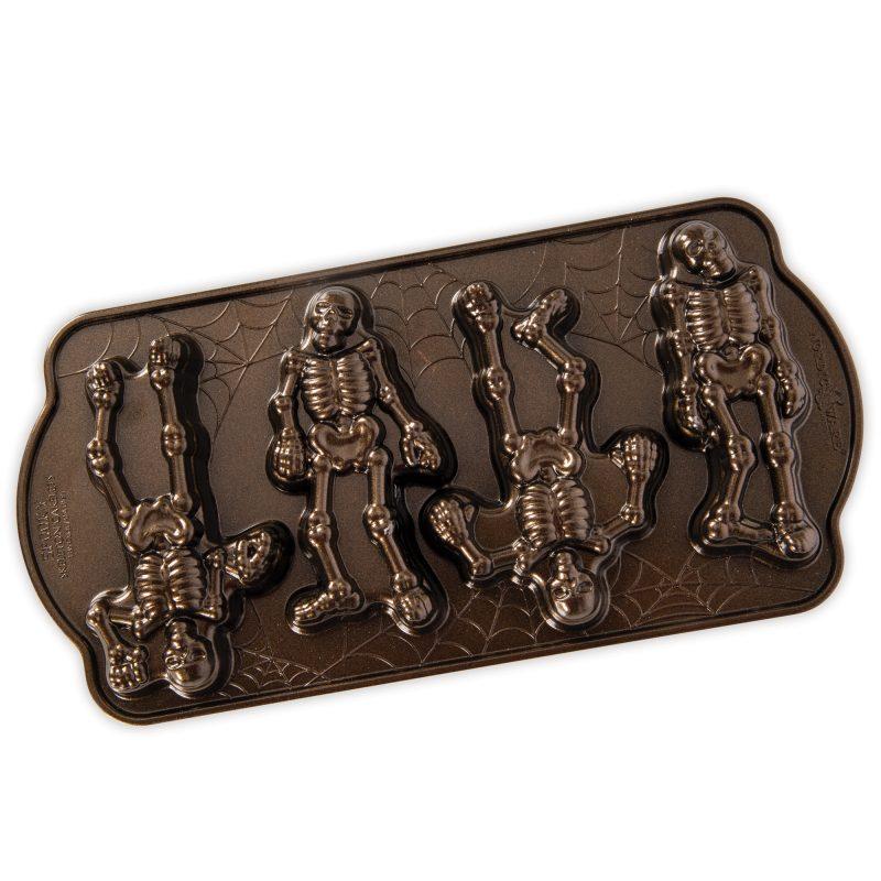 Spooky Skeleton Cakelet Pan