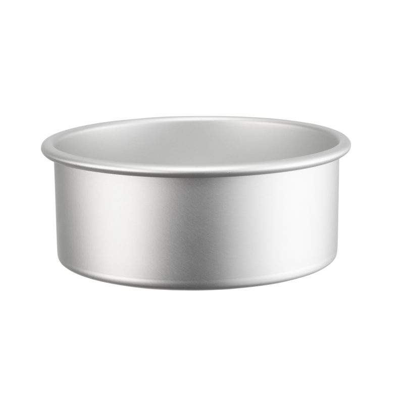 Rund bakform i anodiserad aluminium 15 cm