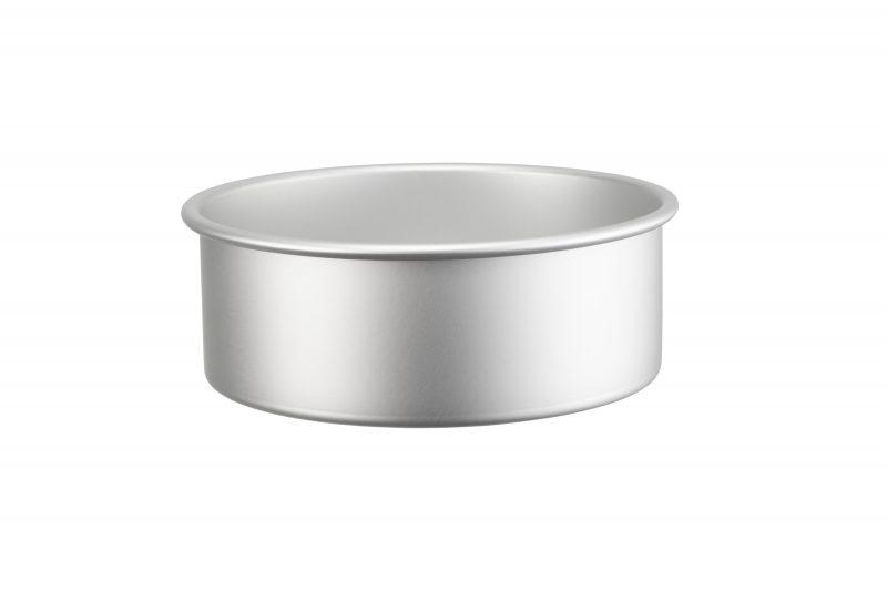 Rund bakform i anodiserad aluminium 20 cm