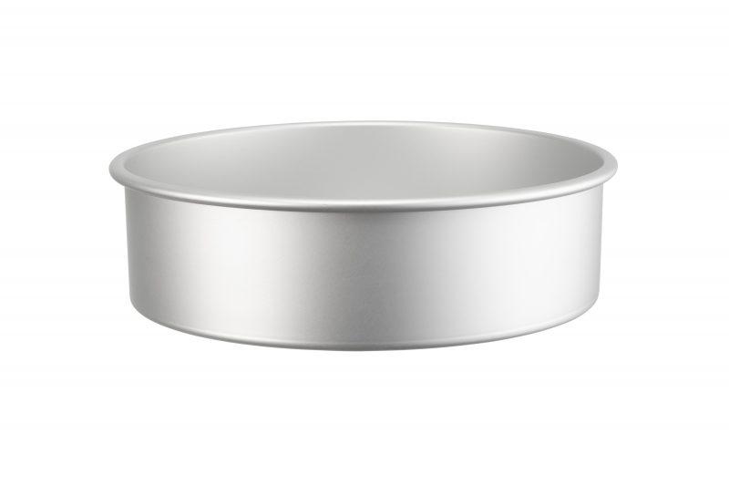 Rund bakform i anodiserad aluminium 25 cm